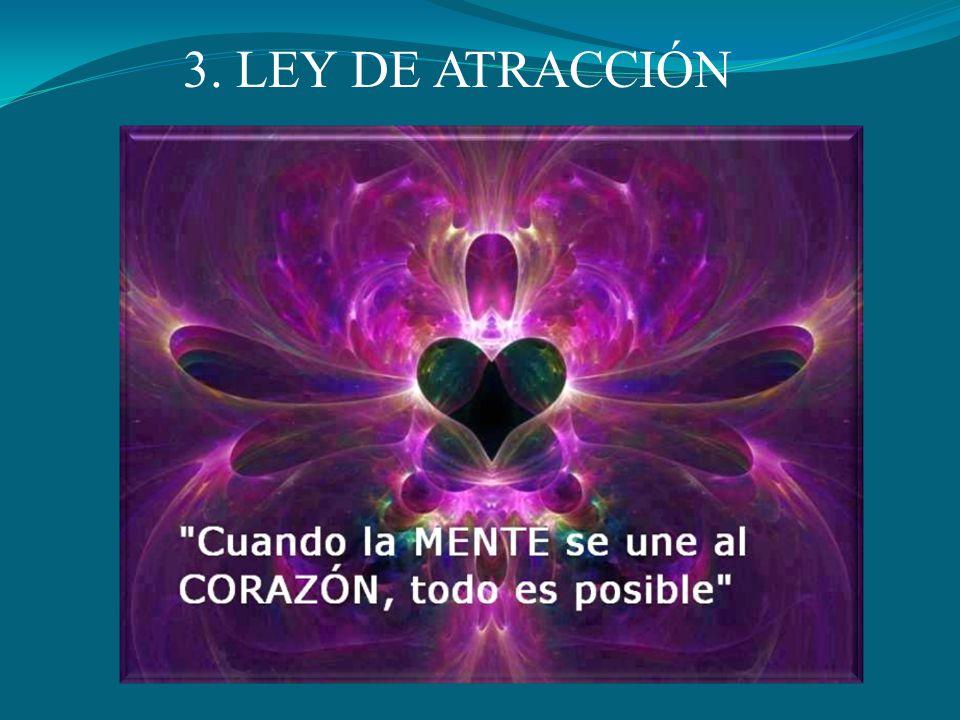 3. LEY DE ATRACCIÓN