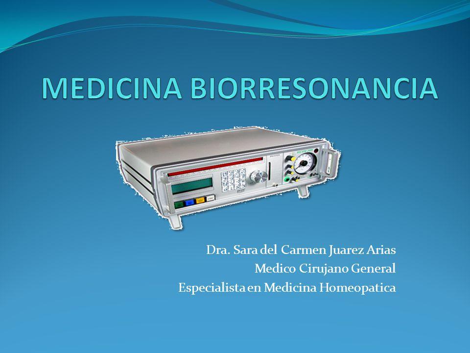 Dra. Sara del Carmen Juarez Arias Medico Cirujano General Especialista en Medicina Homeopatica