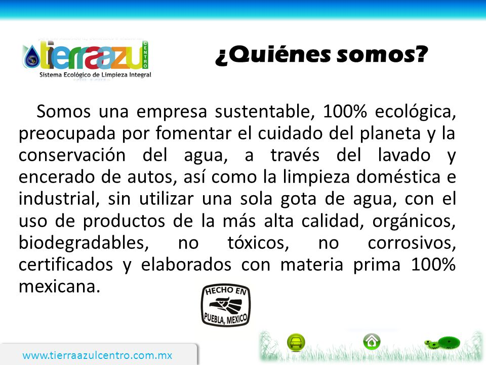 www.tierraazulcentro.com.mx Limpieza de pisos