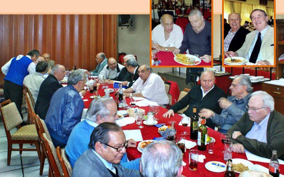 Comida GEN54 15 de Nov. 2012 Estimados Ex Patrias.