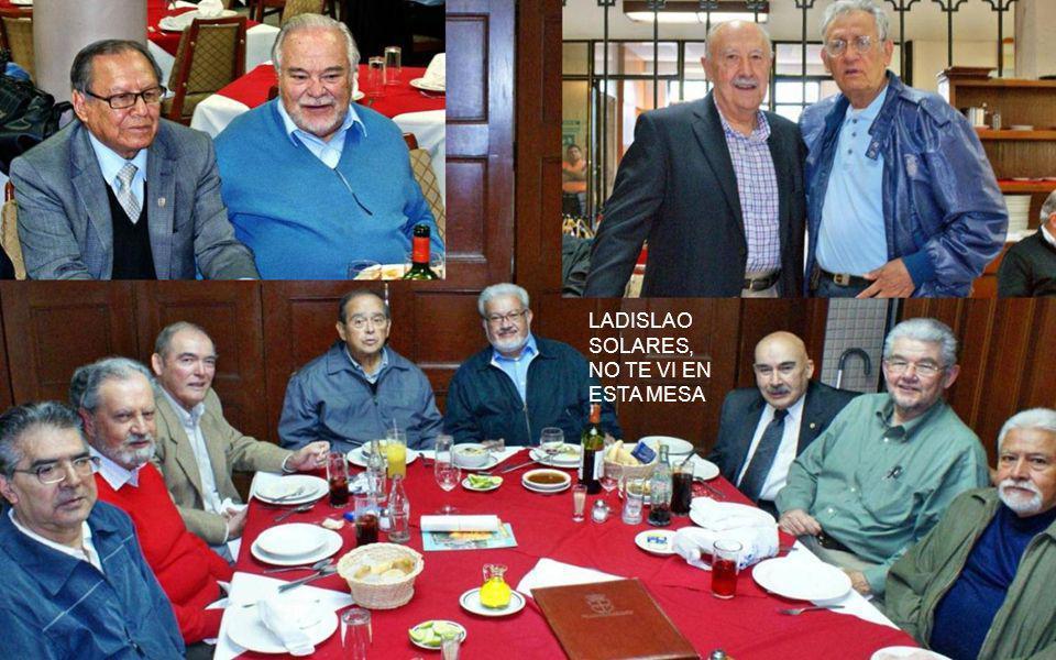 Jacobo Zabludovsky estuvo saludando a sus amigos en un privado contiguo a la mesa de la 54; después pasó a con nosotros y amablemente se tomó fotos