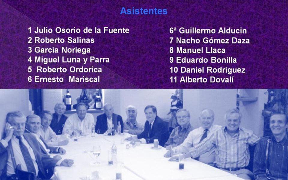 Dedicado a todos los Exalumnos del INSTITUTO PATRIA Guillermo Alducin Varela Gen 58 QUO MELIUS ILLAC Se nos convocó a cerrar filas en los Nobles Terci