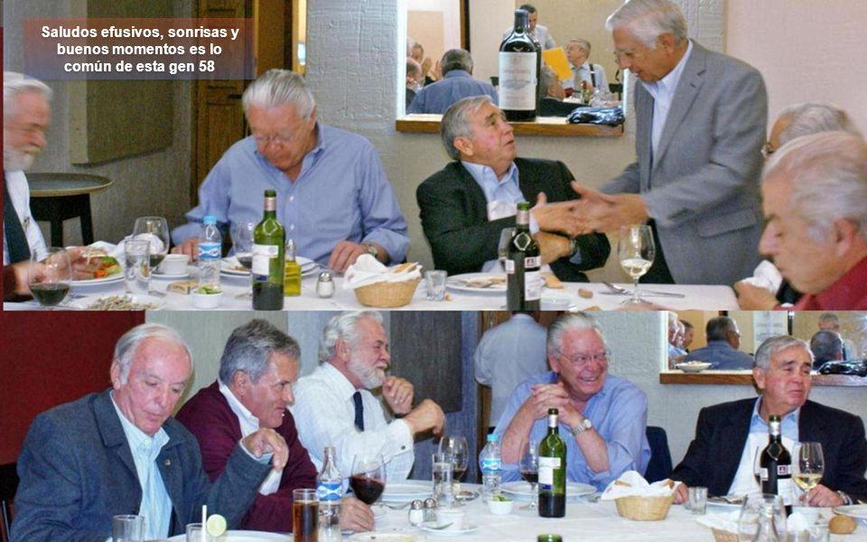 Tuvimos el gusto que nos acompañara en la comida José Luis Rangel de la gen67