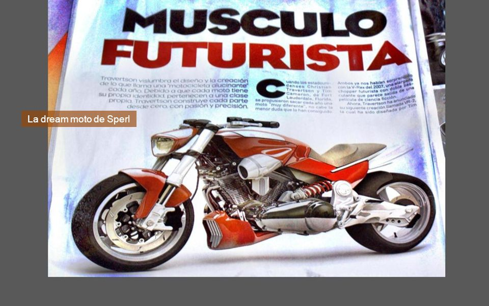Deveras está impecable la moto.
