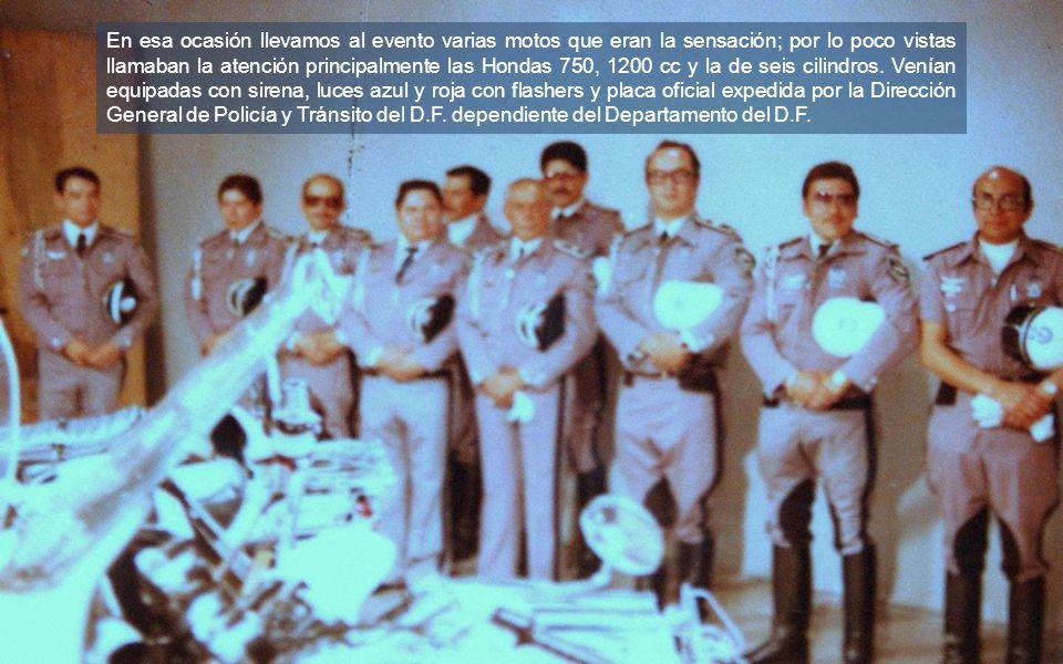 Veremos una serie de fotos a una visita al programa de Daniel Pérez Arcaráz y Madaleno (adelante al centro).