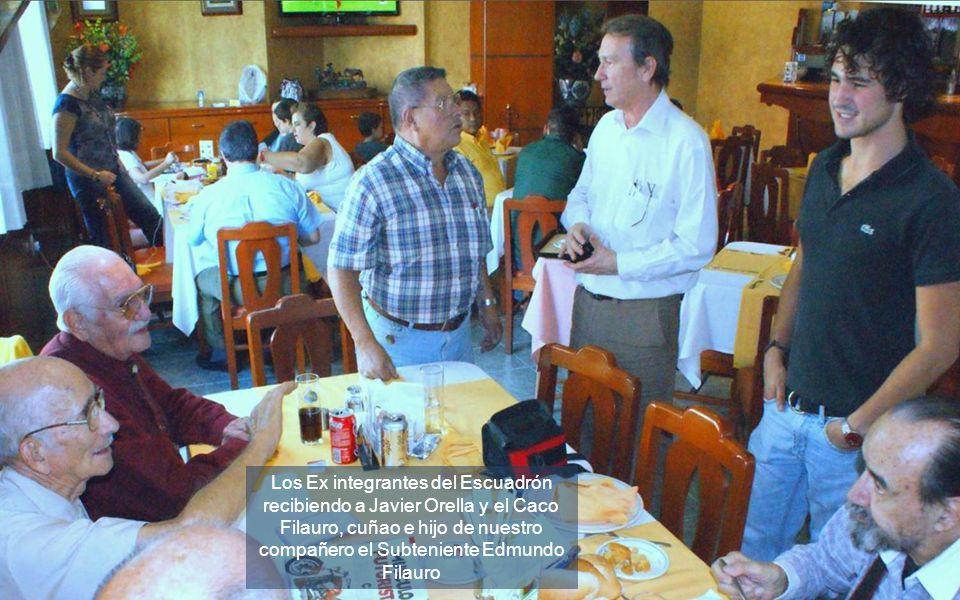 Augusto Sperl nos aporta estas fotos de su presencia en el programa con Danielito.