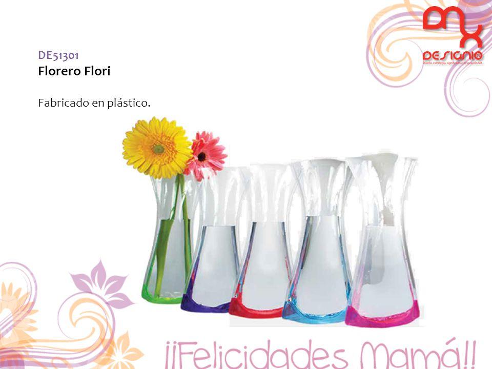 DE51301 Florero Flori Fabricado en plástico.