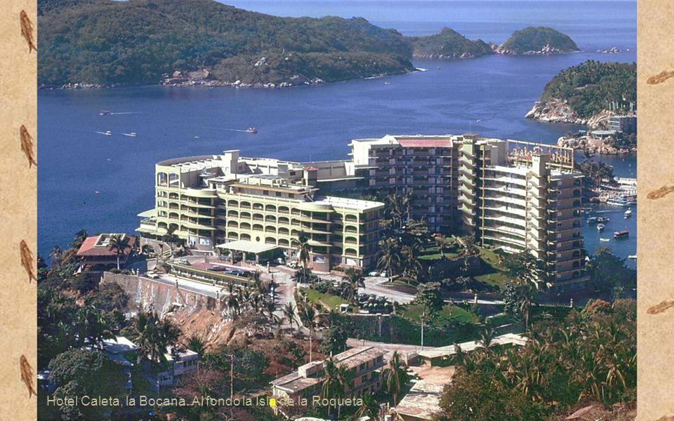 Desde la casa de William Jenkins, la mas alta de la colina, hoy desafortunado hotel