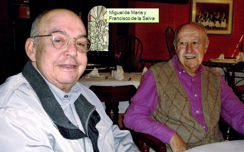 José Luis Gómez Tovar, Francisco Romano y Carlos Urbina