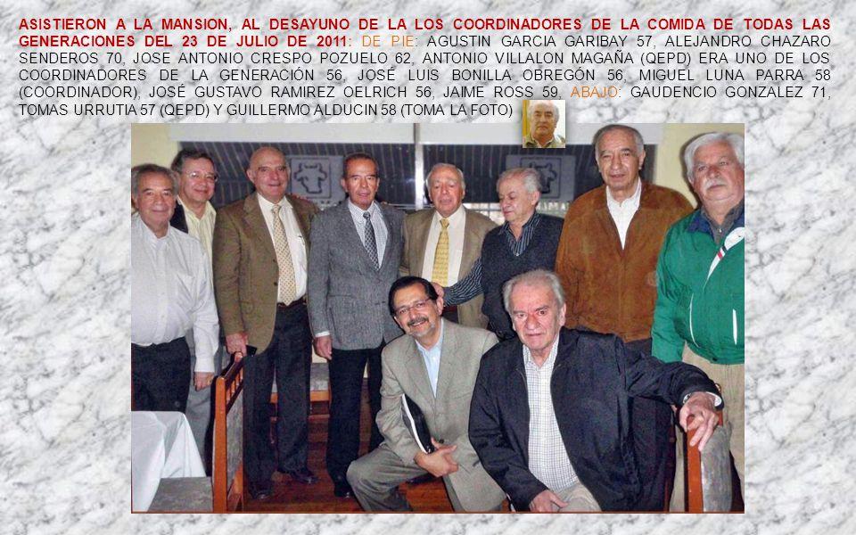 MIGUEL LUNA PARRA GEN58 ALEJANDRO CHAZARO SENDEROS GEN70 FOTOHISTORIA 26 de septiembre de 2012 Dedicado a todos los Exalumnos del INSTITUTO PATRIA Gui
