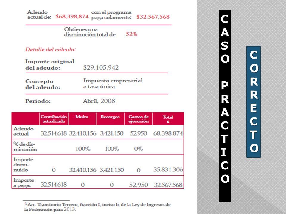 CASO PRACTICO CASO PRACTICO CASO PRACTICO CASO PRACTICO CORRECTOCORRECTOCORRECTOCORRECTO