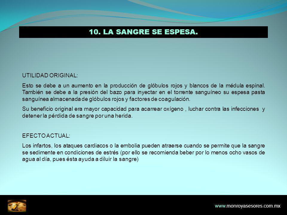 10.LA SANGRE SE ESPESA.
