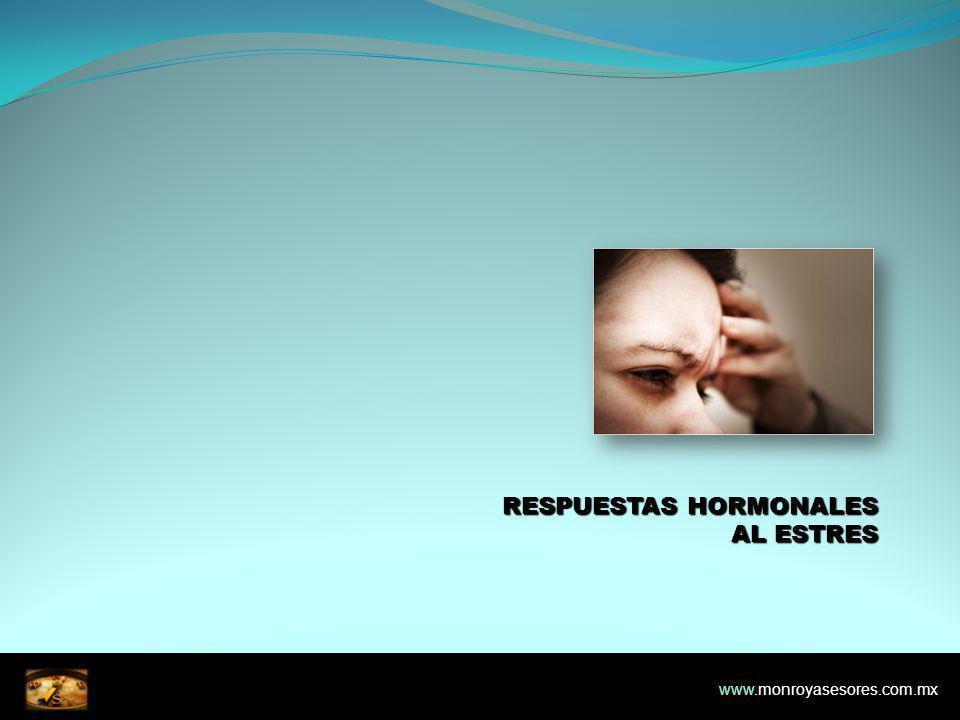 RESPUESTAS HORMONALES AL ESTRES www.monroyasesores.com.mx