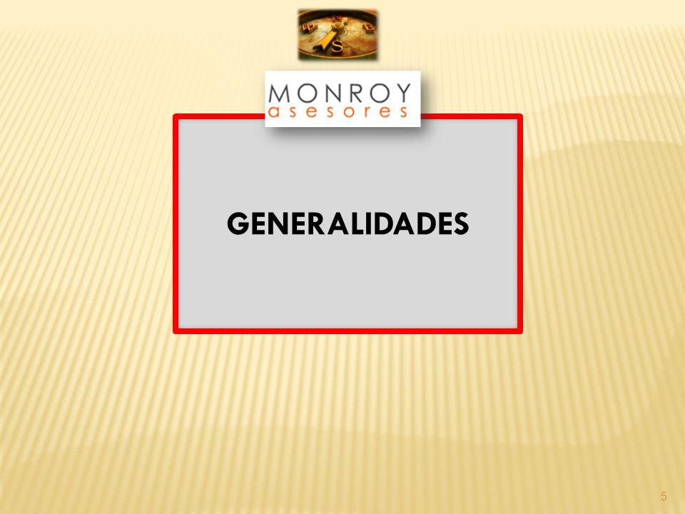 5 GENERALIDADES