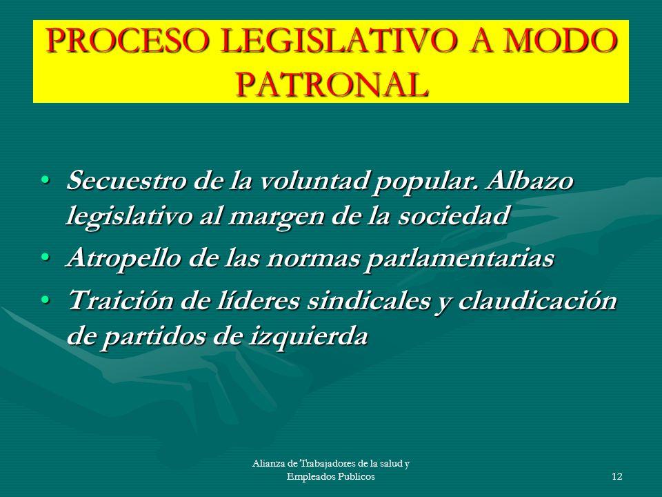 Alianza de Trabajadores de la salud y Empleados Publicos13 LA SEGURIDAD SOCIAL.
