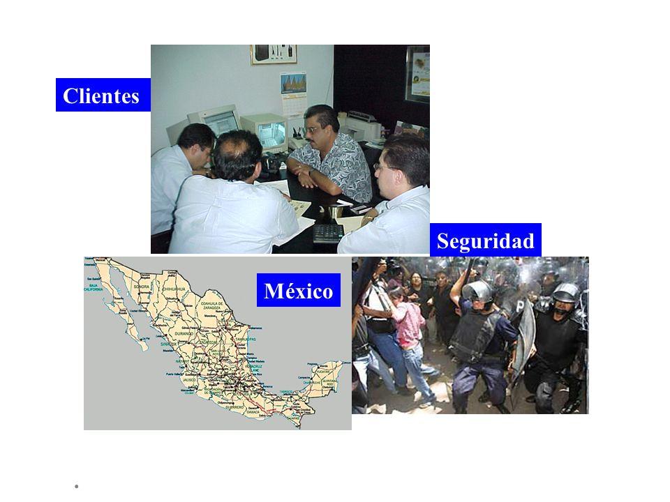 . Seguridad Clientes México