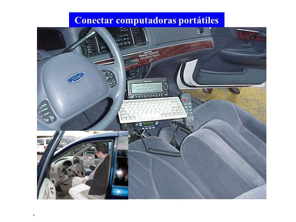 . Conectar computadoras portátiles