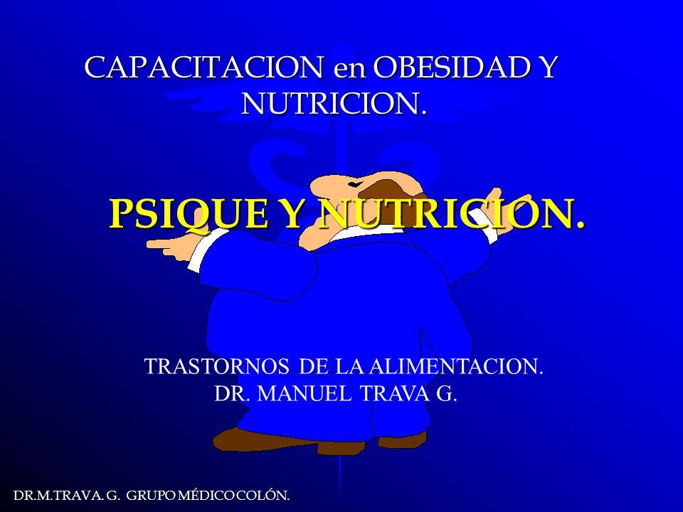 DR.M.TRAVA.G. GRUPO MÉDICO COLÓN. PSIQUE Y NUTRICION.