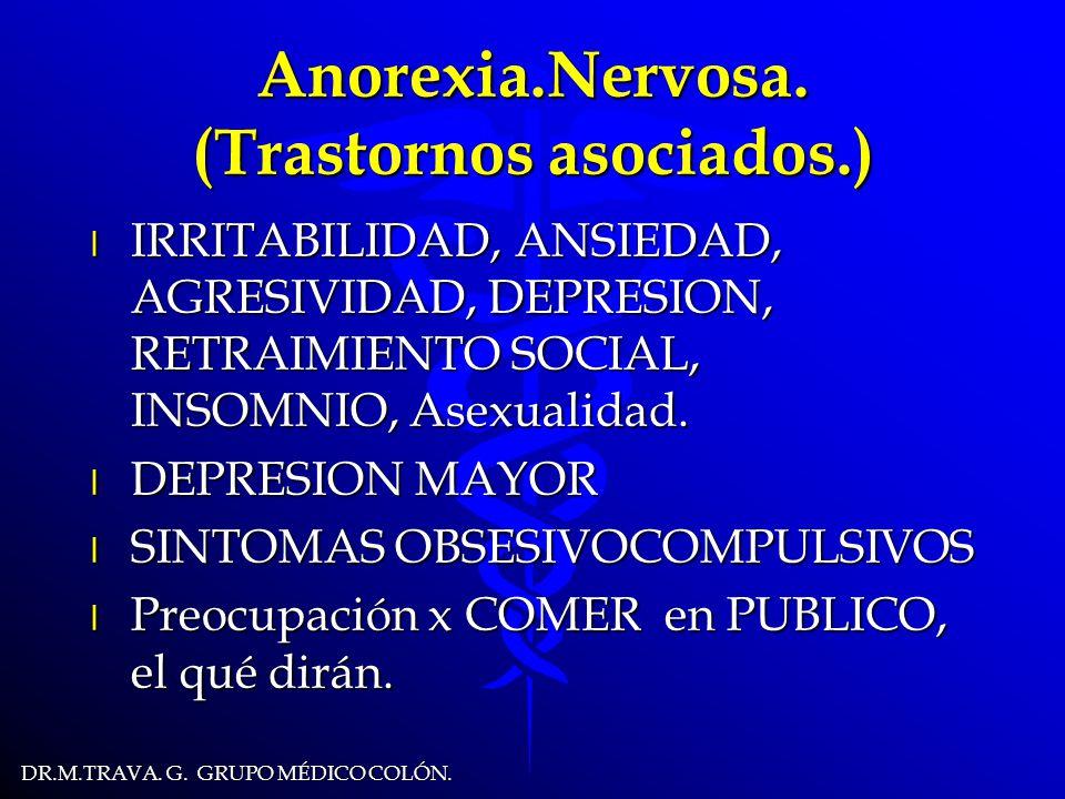 DR.M.TRAVA.G. GRUPO MÉDICO COLÓN. Anorexia.Nervosa.