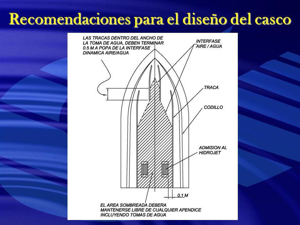 Recomendaciones para el diseño del casco