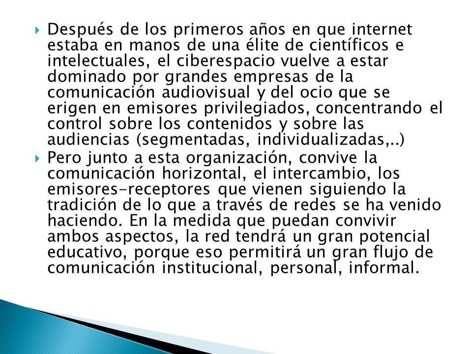 Los espacios educativos que se están configurando por el influjo de la evolución de las TIC no pueden comprenderse al margen de los otros elementos humanos con los que interacciona (cultura, sociedad, técnica).