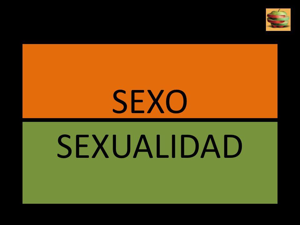 PORQUE EL SEXO.