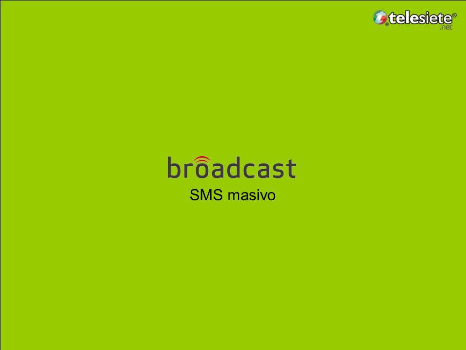 ¿Qué es broadcast telefónico? telefónico Base de Datos Equipo que lleva a cabo llamadas Llamada recibida por una persona Ejemplos de mensajes Pre-Grab