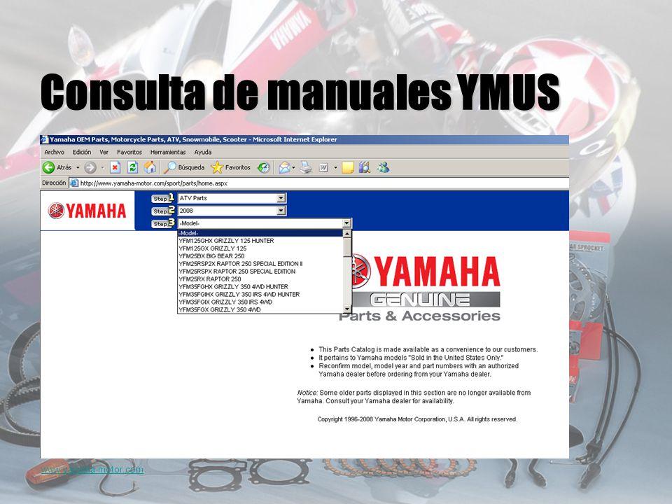 www.yamaha-motor.com Consulta de manuales YMUS