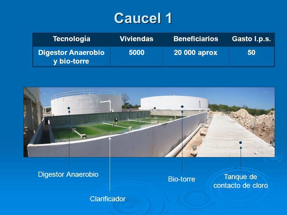 Caucel 1 TecnologíaViviendasBeneficiariosGasto l.p.s.