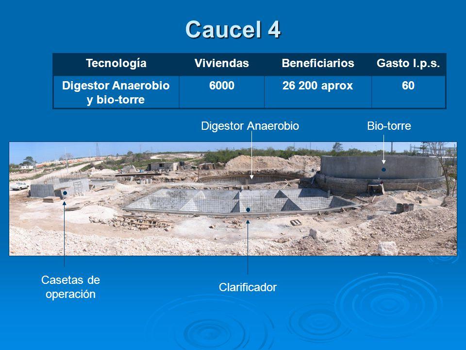 Caucel 4 TecnologíaViviendasBeneficiariosGasto l.p.s.