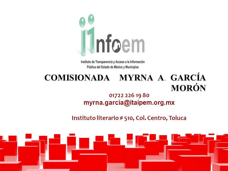 COMISIONADA MYRNA A.