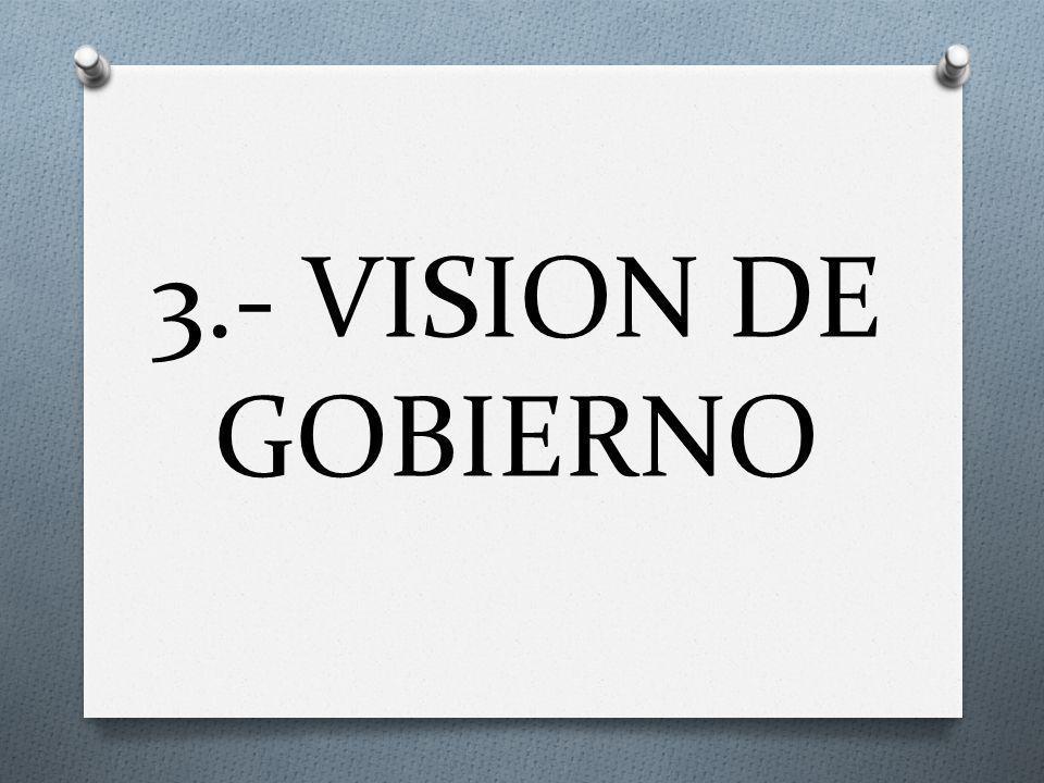 3.- VISION DE GOBIERNO