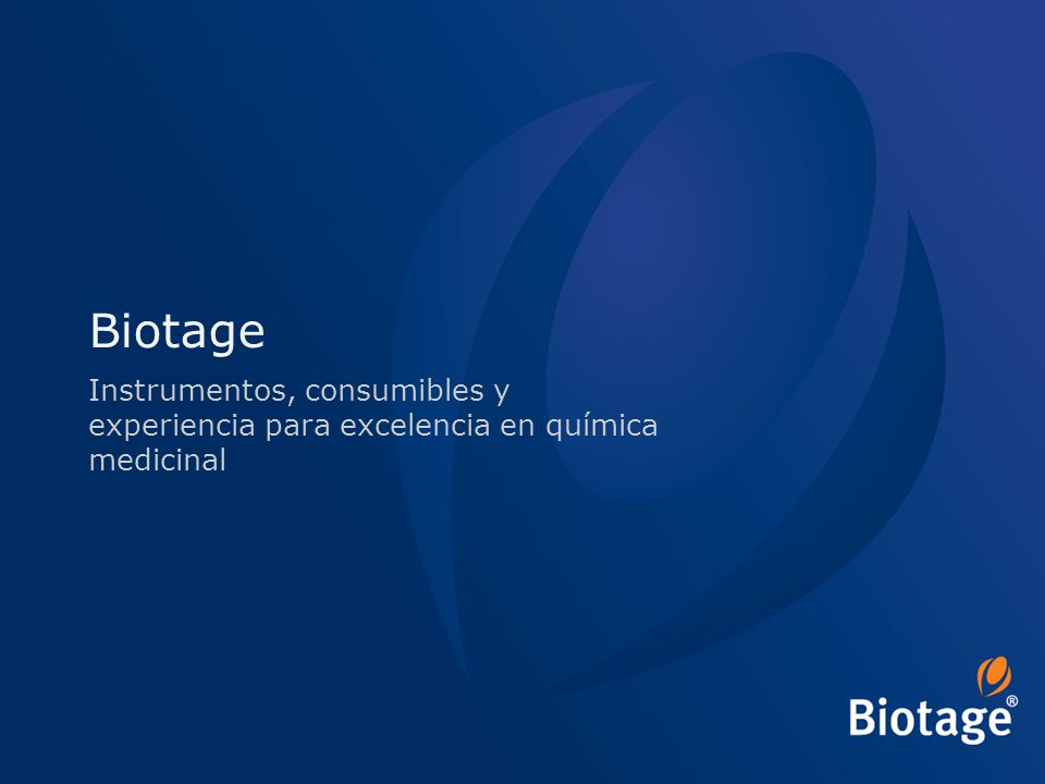 © 2012 Biotage 52 Initiator+ Software