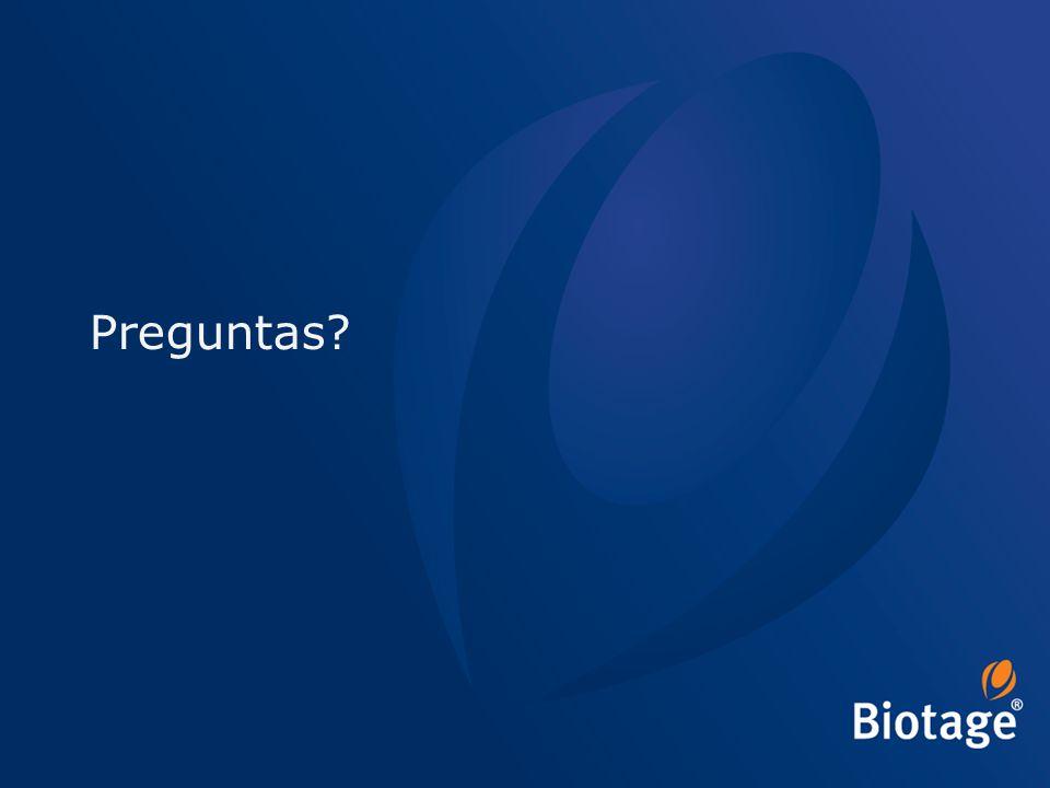 © 2012 Biotage 58 Preguntas?