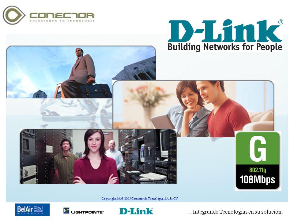 …Integrando Tecnologías en su solución. Copyright 2003-2005 Conector de Tecnología, SA de CV