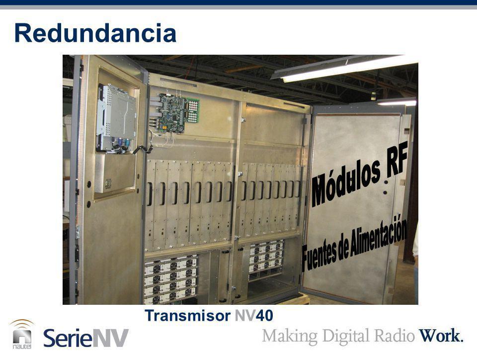 Redundancia Transmisor NV40
