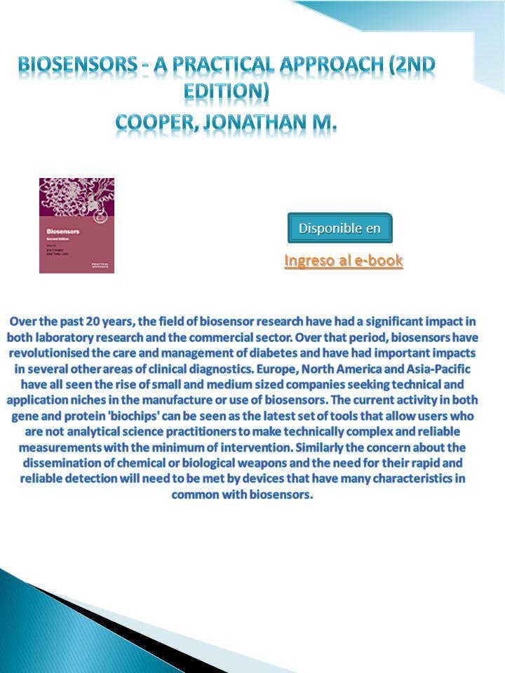 Disponible en Ingreso al e-book Ingreso al e-book