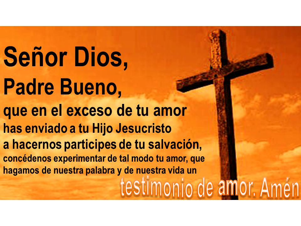 No tenemos que hacer mucho, sólo ir sobre: Las fronteras Los rincones Las periferias ¿Alguien se ha enamorado de Dios por tu testimonio y por tus obra