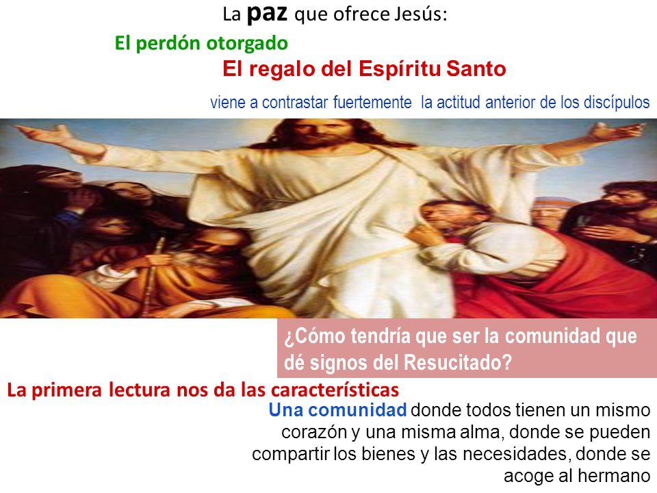 Juan 20, 21 ¡La paz esté con ustedes!