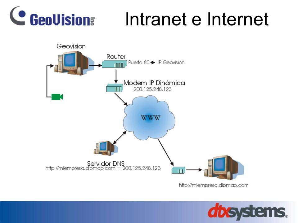 Intranet e Internet