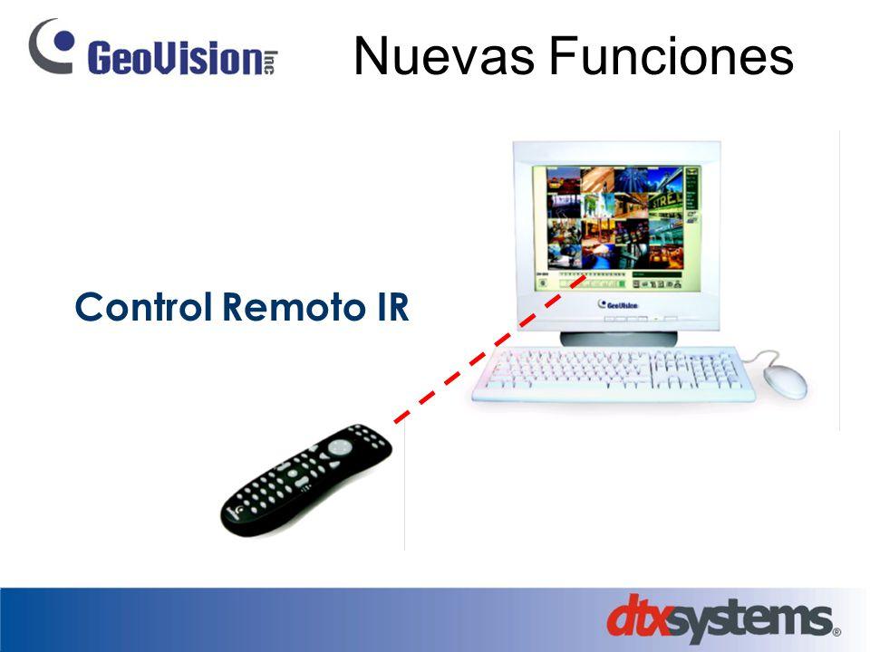 Nuevas Funciones Control Remoto IR