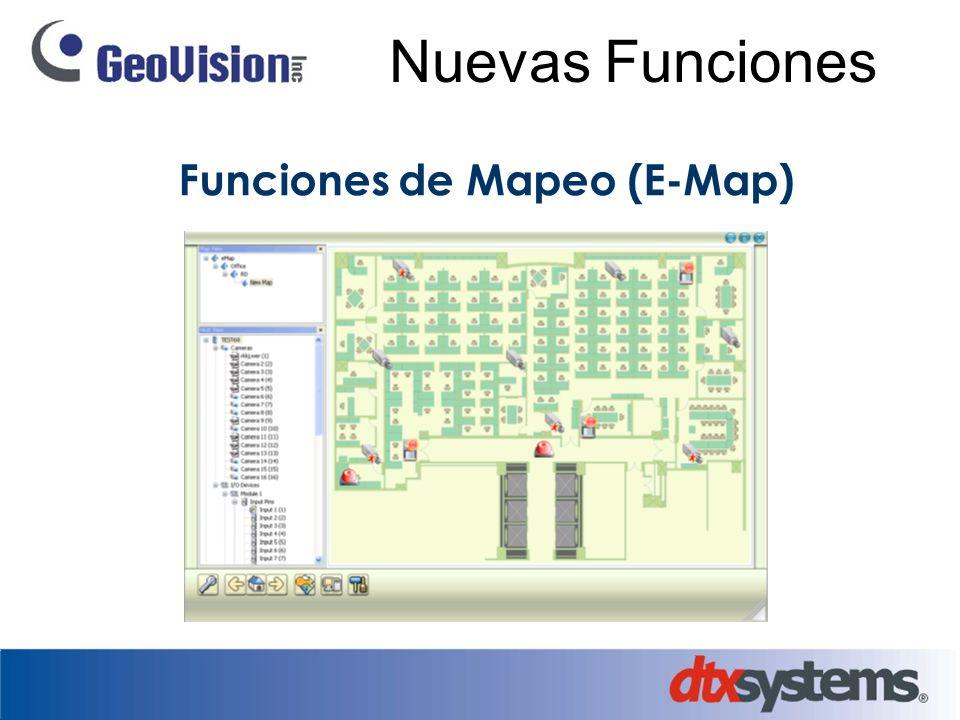Nuevas Funciones Funciones de Mapeo (E-Map)