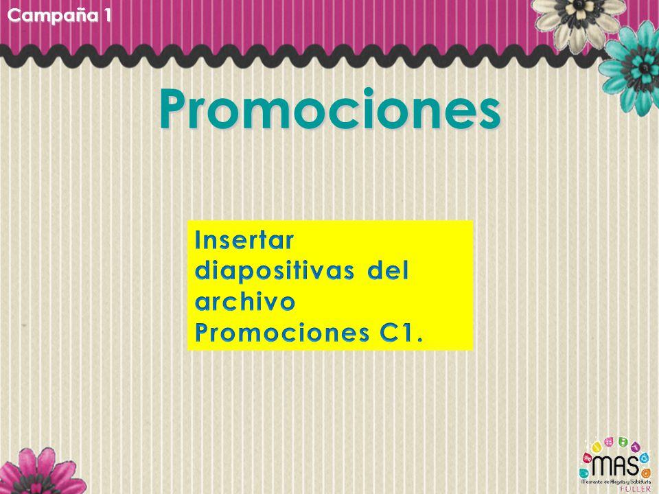 Promociones Campaña 1