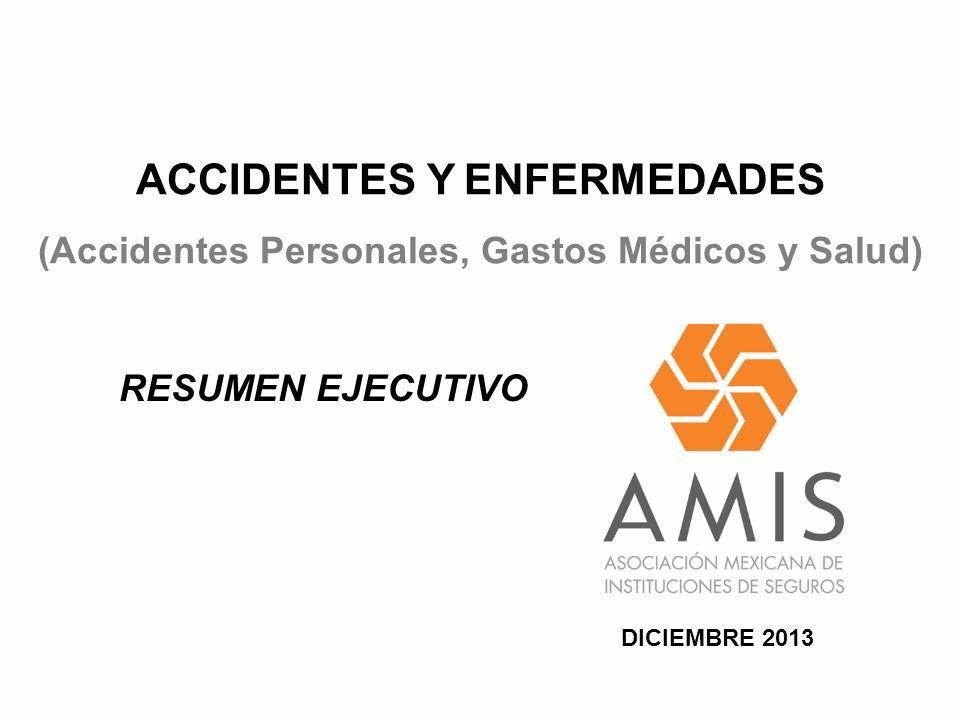 ACCIDENTES Y ENFERMEDADES (Accidentes Personales, Gastos Médicos y Salud) RESUMEN EJECUTIVO DICIEMBRE 2013