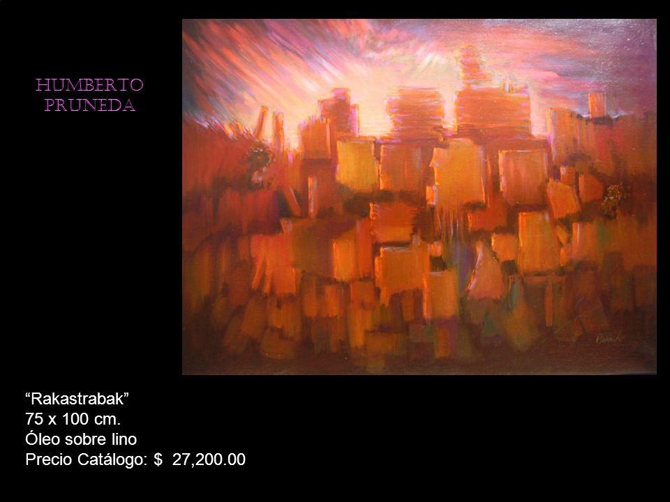 HUMBERTO PRUNEDA Hormiga 100 x 75 cm. Mixta sobre tela Precio Catálogo: $ 27,200.00
