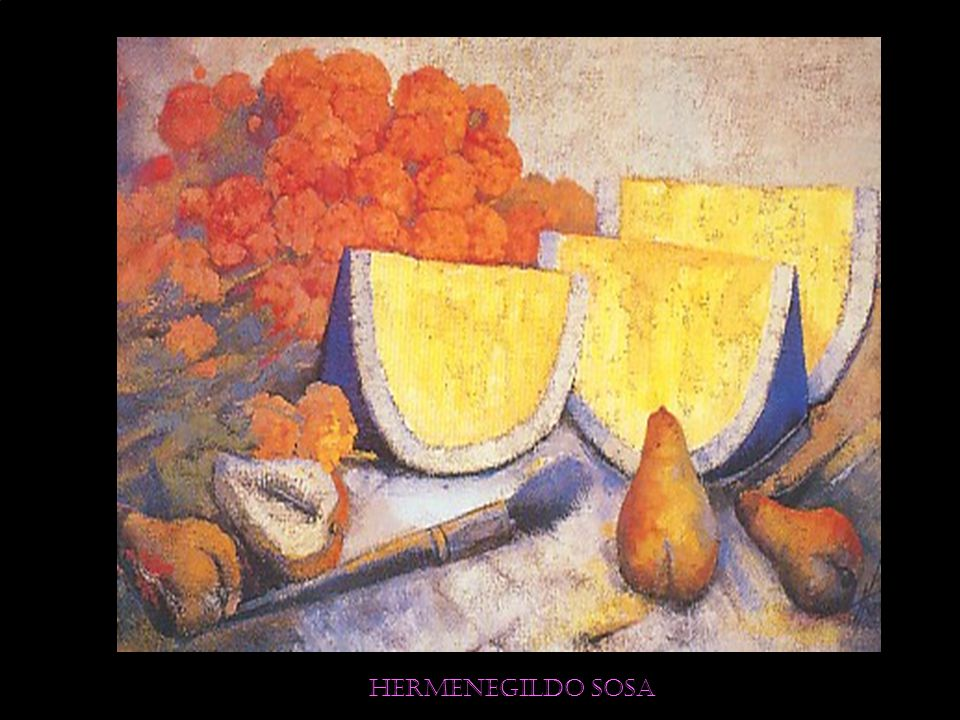 Hermenegildo sosa Aurora luminosa 100 x 120 cm. Óleo sobre tela Precio Catálogo: $ 130,000.00
