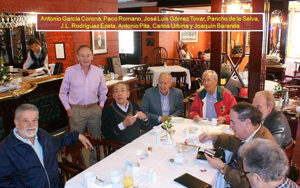 José Lujis Vallarta, Paco Romano, Antonio García Corona, José Luis Gómez Tovar, Guglielmo Perina, J.L. Rodríguez Ezeta, Antonio Pita, Carlos Urbina, J