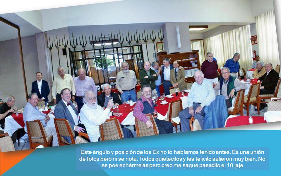 Comida Gen54 Como narra Morelos en sus artículos, ha aumentado por el interés de los Ex de la 54, 55 y otras, por asistir a sus comidas mensuales.