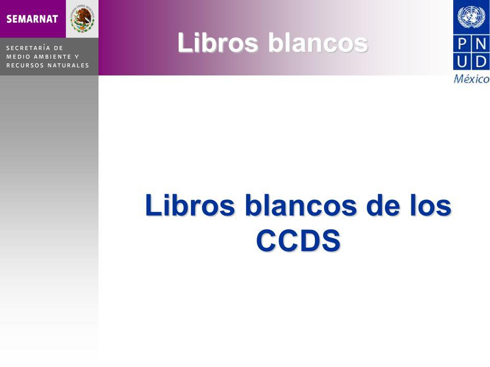 Libros blancos de los CCDS Libros blancos