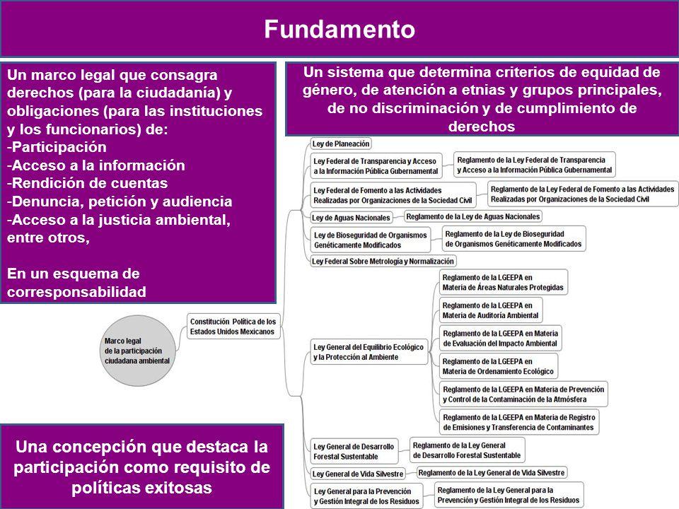 Naturaleza Proceso de creación Objetivo Misión, visión y valores Antecedentes Las estrategias Fundamento Un marco legal que consagra derechos (para la